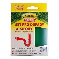 SET pro ODPADY SIFONY s urychlovačem Subio